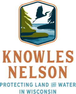 The Team Knowles Nelson logo. Team Knowles Nelson is a diverse coalition of conservation, sporting, and government groups committed to renewing Wisconsin's Knowles-Nelson Stewardship Program.