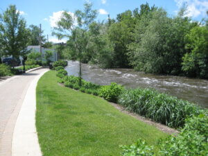 The Fox River in the Fox Valley, where Knowles-Nelson has helped fund 180 projects.